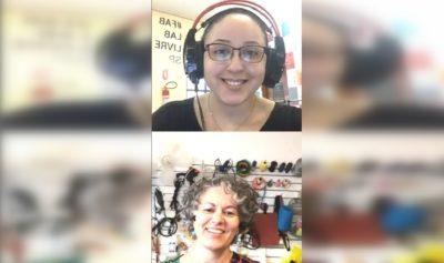 Live do projeto (respire! com o Fab Lab Livre SP trata sobre a confecção de máscaras
