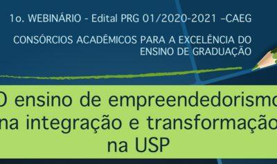 Webinar – empreendedorismo e inovação na USP